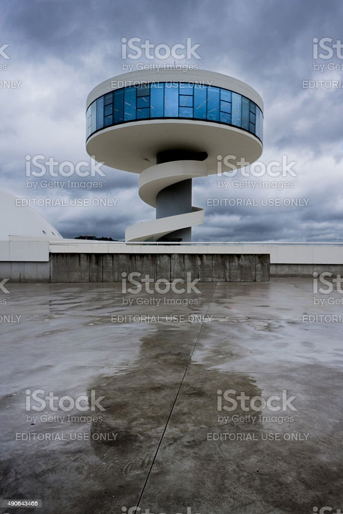 Niemeyer Tower stock photo