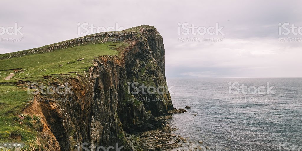 Niest Point in the Fog stock photo