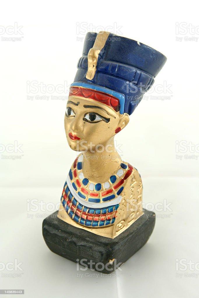 Nifertiti statue royalty-free stock photo