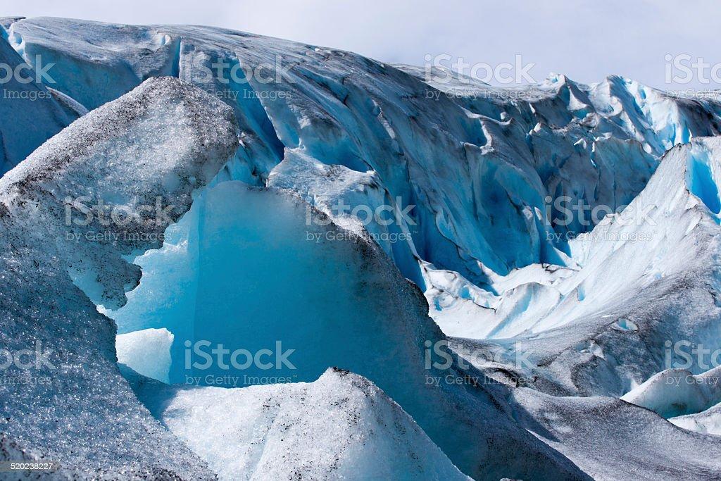 Nigardsbreen glacier stock photo