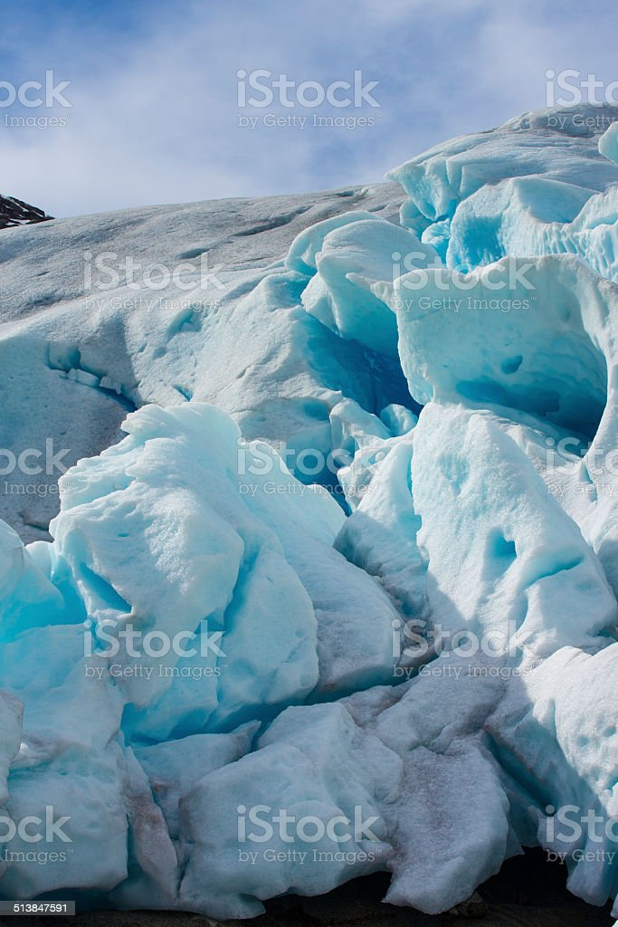 Nigardsbreen in Norway stock photo