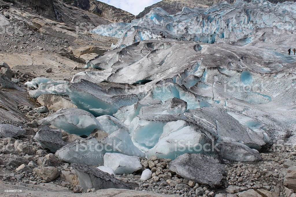 Nigardsbreen is a glacier in Norway. stock photo