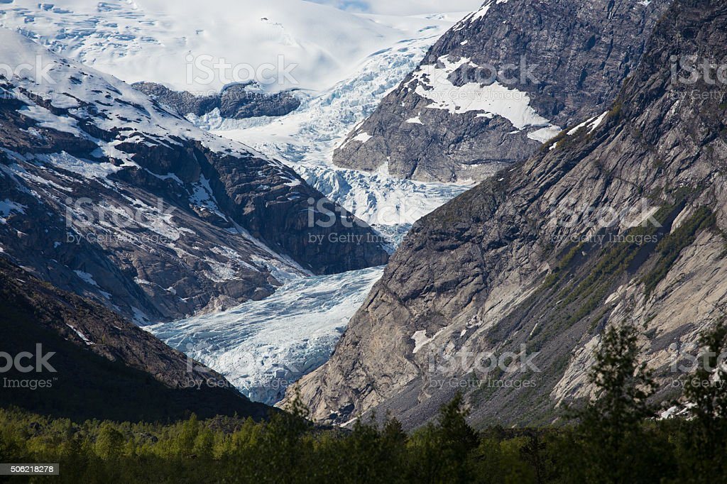 Nigardsbreen stock photo