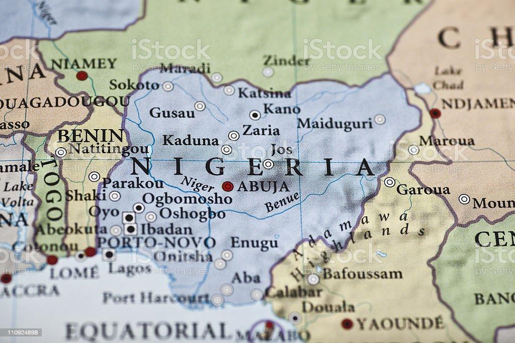 Nigeria stock photo