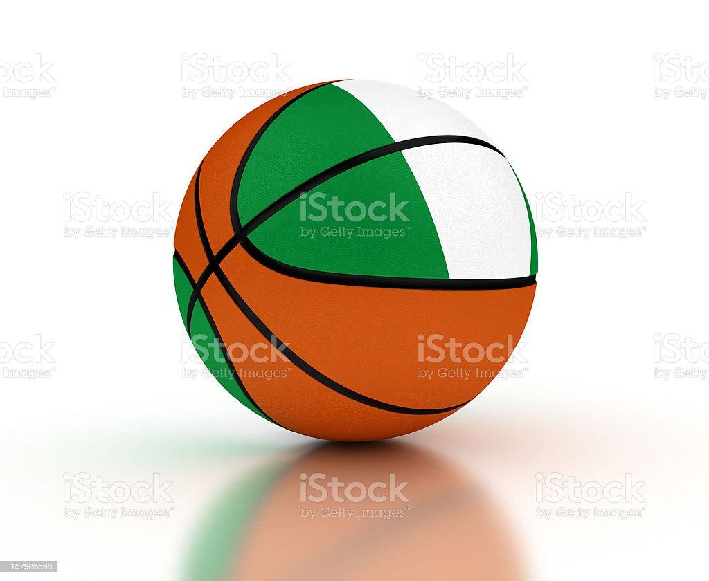 Nigerian Basketball royalty-free stock photo