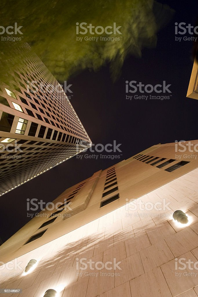 Night Architecture royalty-free stock photo