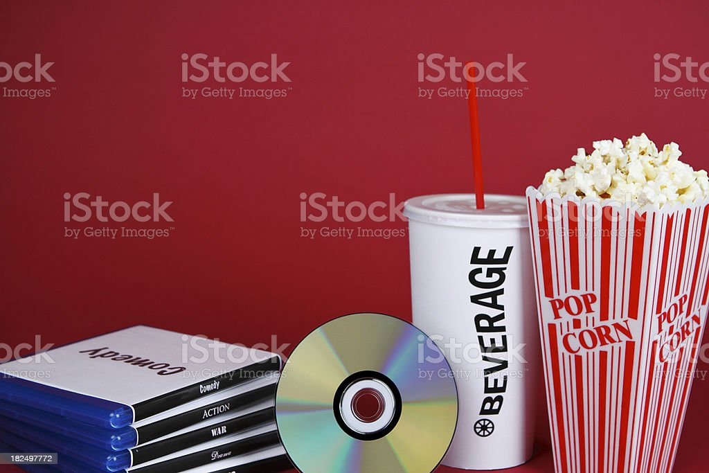 Night at the Movies royalty-free stock photo