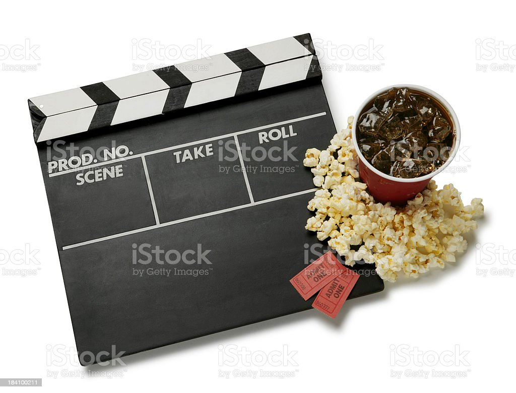 Night at the Movies royalty-free stock photo