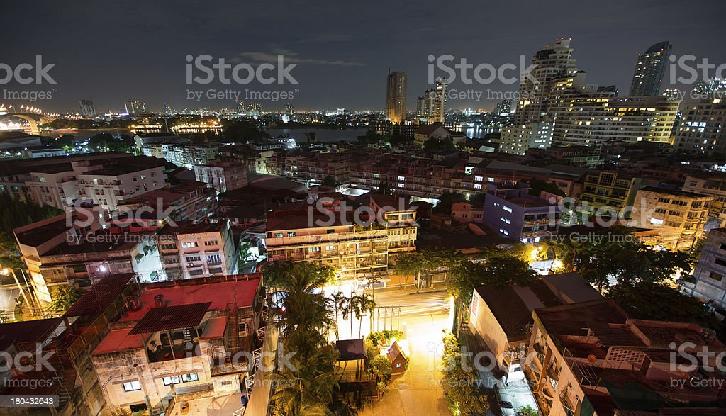 Night Bangkok stock photo