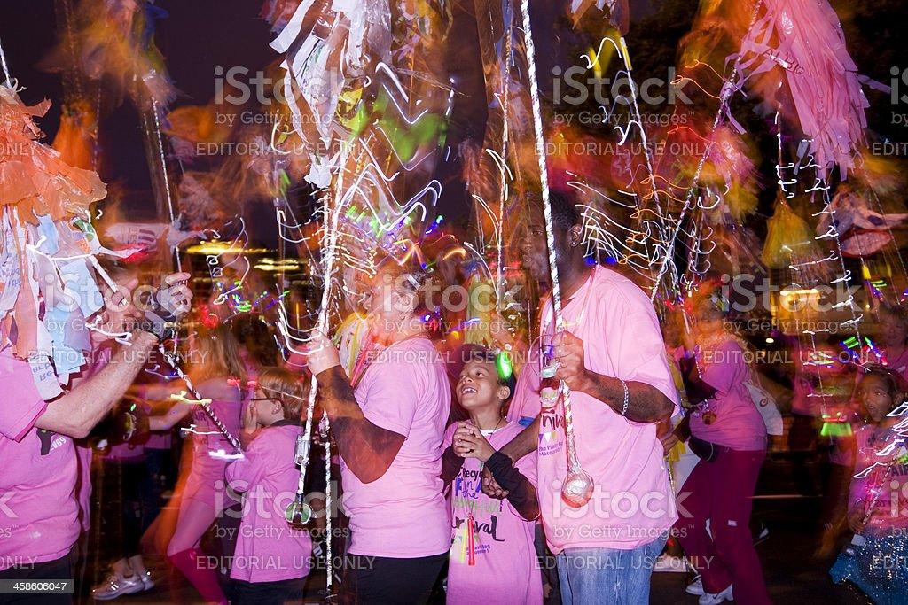 Night Carnival stock photo