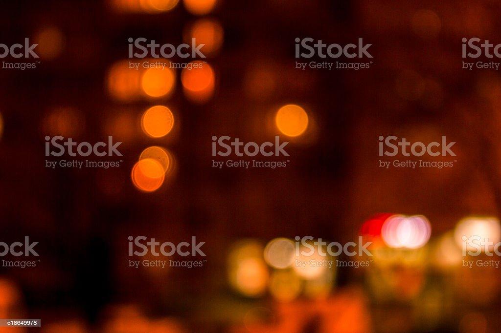 night city, background blur stock photo