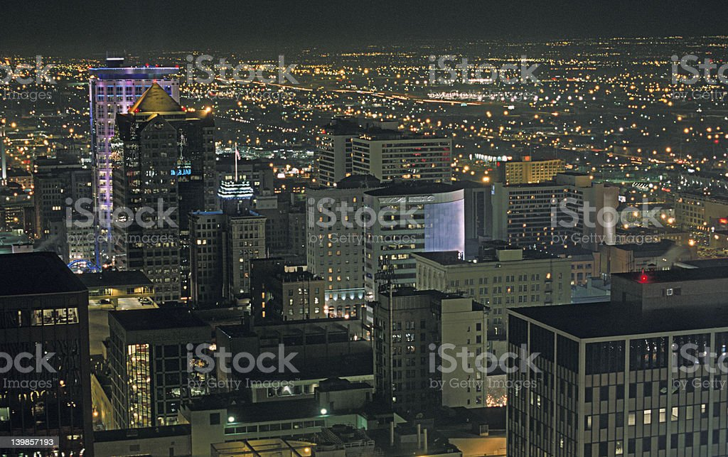 Night Cityscape royalty-free stock photo