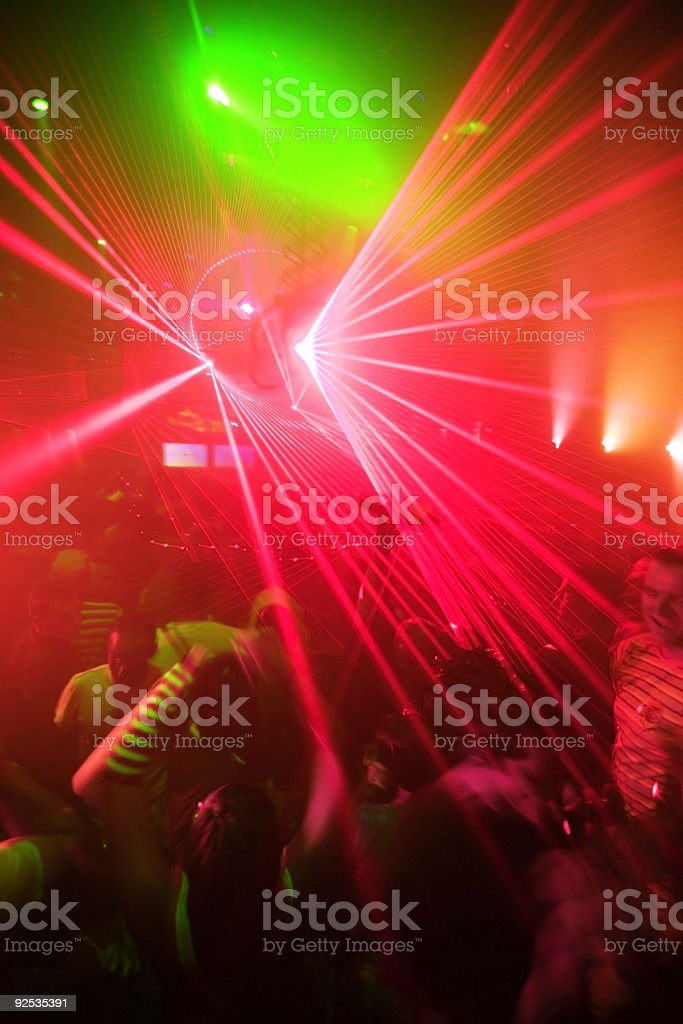 Night Club Party Background royalty-free stock photo