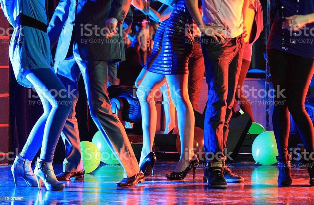 Night club party stock photo