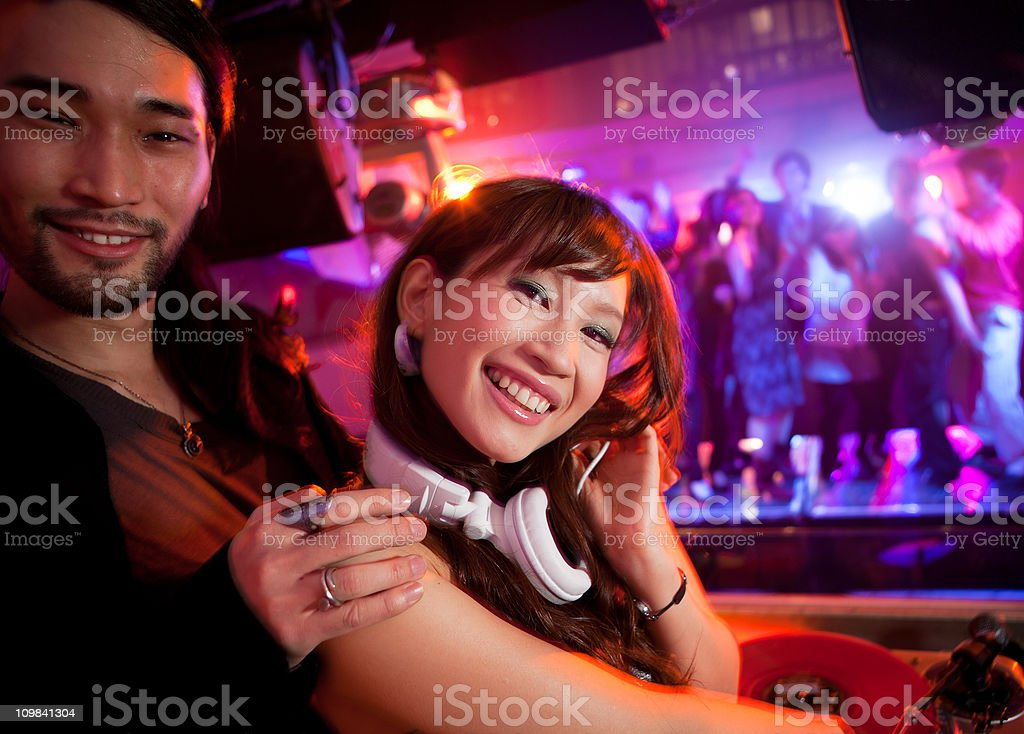 Night club stock photo