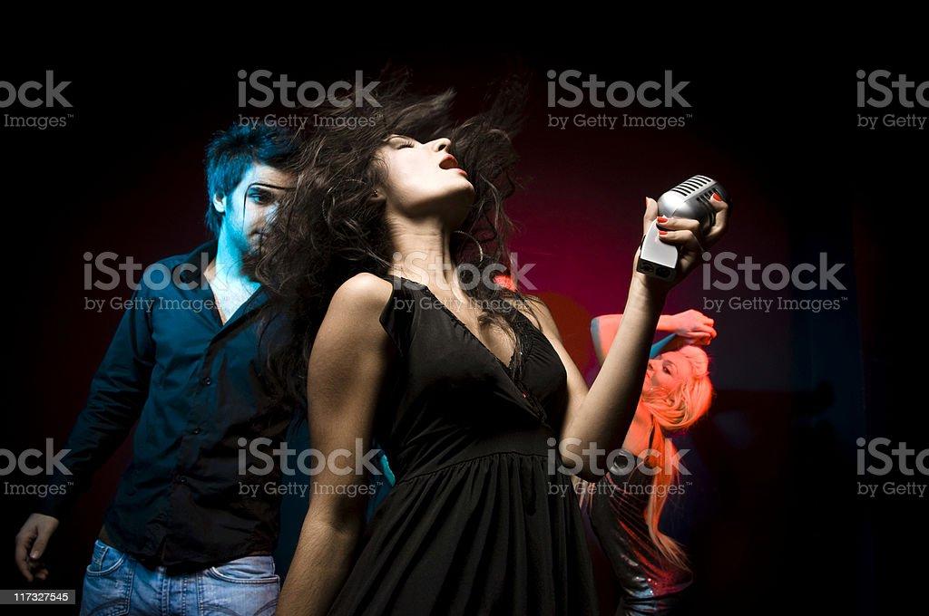 Night Club royalty-free stock photo