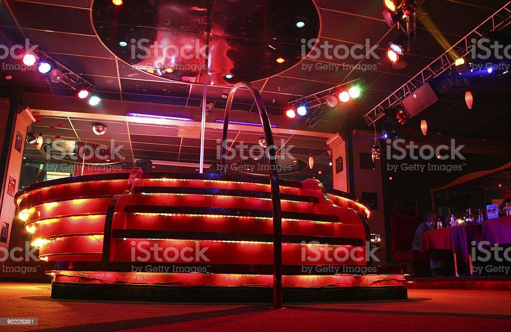 night club podium royalty-free stock photo