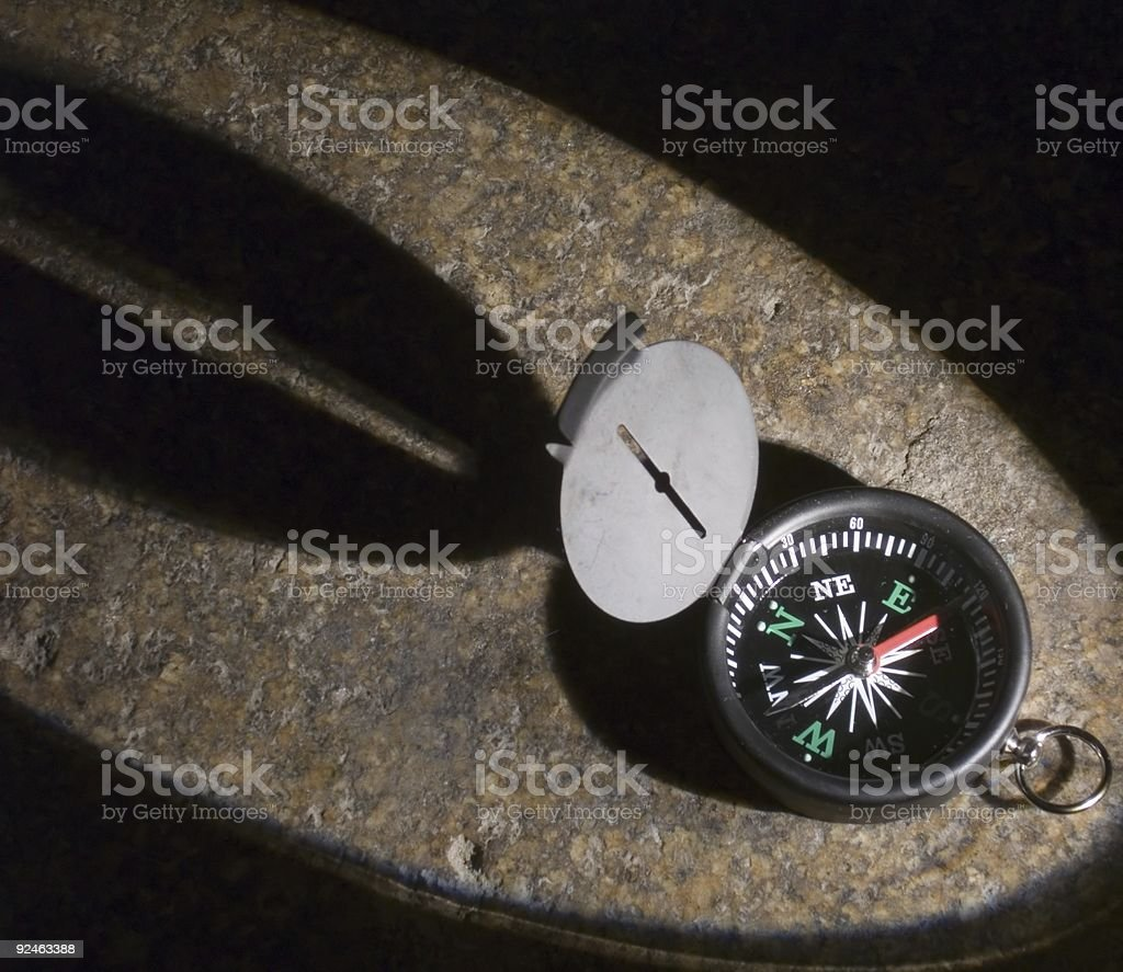 Night Compass royalty-free stock photo