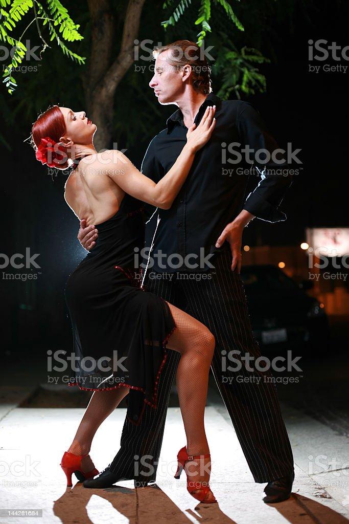 Night dance royalty-free stock photo