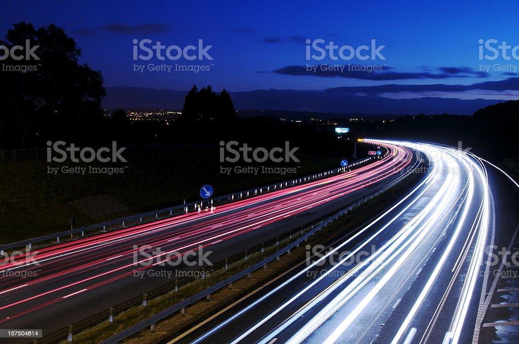 Night Driving royalty-free stock photo