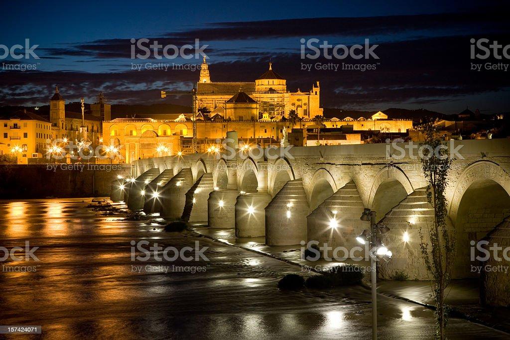 Night in Cordoba royalty-free stock photo