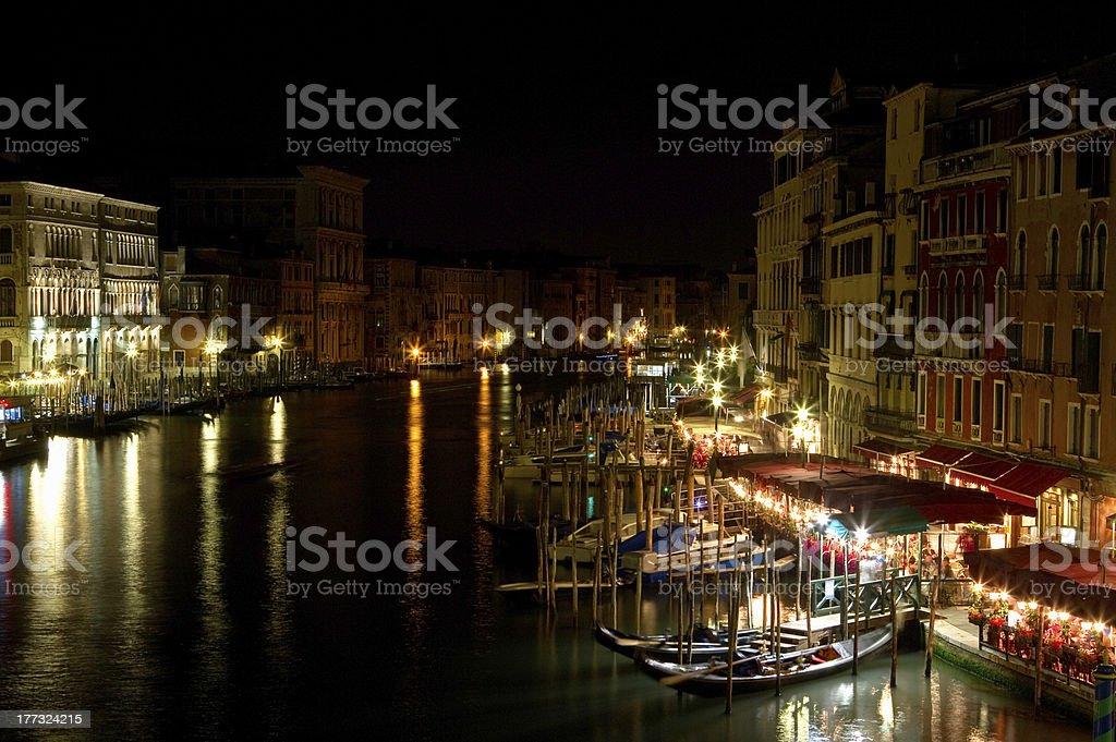 Night in Venice. royalty-free stock photo