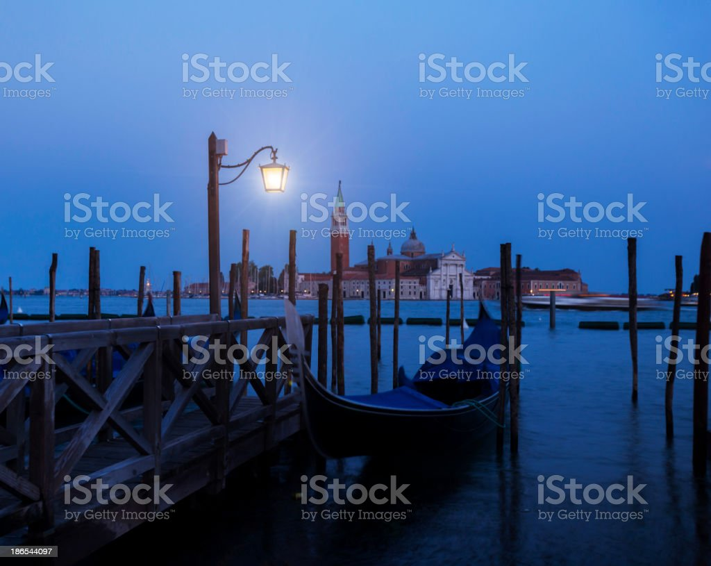 Night in Venice royalty-free stock photo