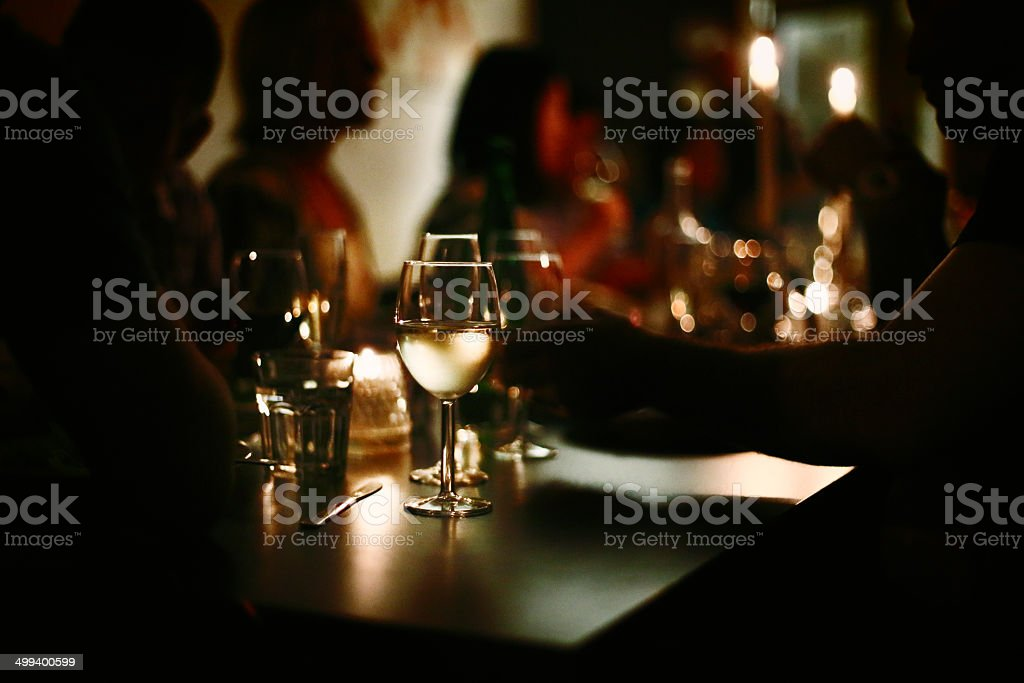 Night life stock photo