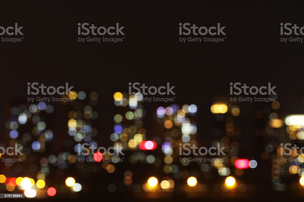 Night light background material stock photo