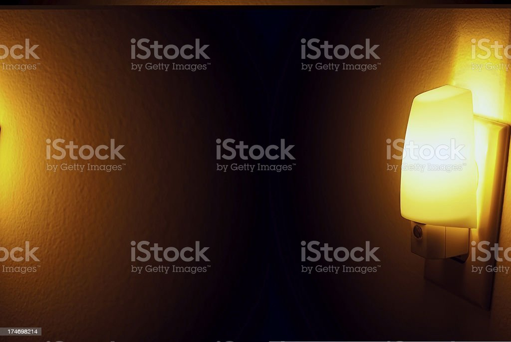 Night Light Safety royalty-free stock photo