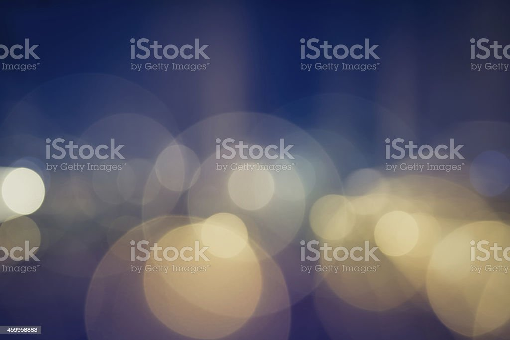 Night lights stock photo
