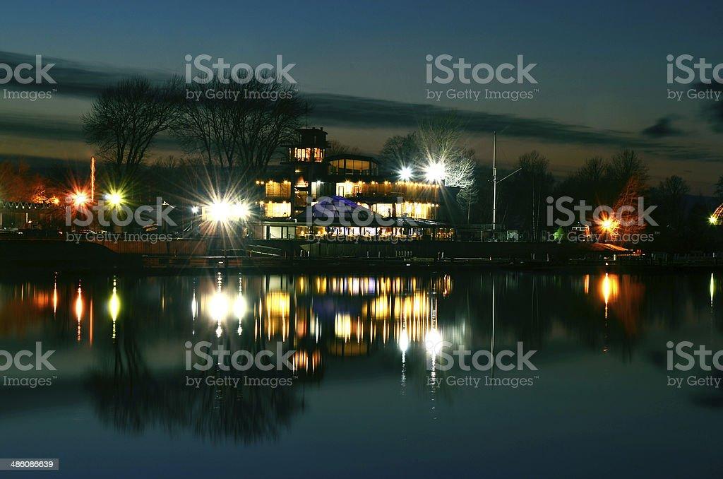 Luzes da noite foto de stock royalty-free