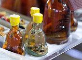 Night Market Phu Quoc Bottle Of Snake Schnaps
