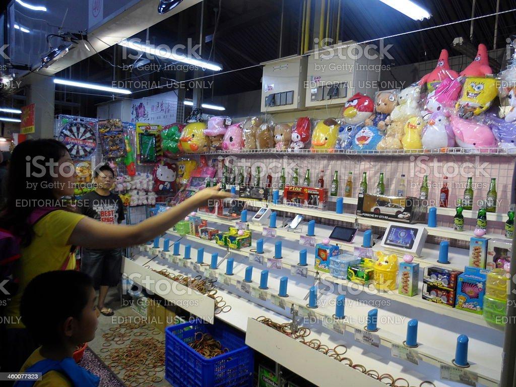 Night market royalty-free stock photo