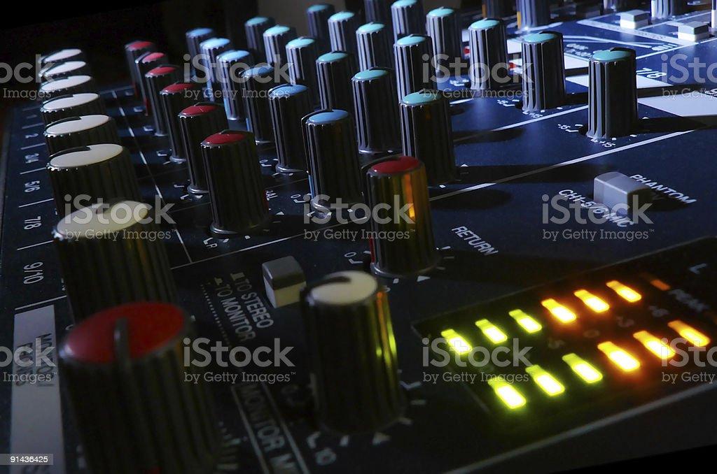 Night Mixer stock photo