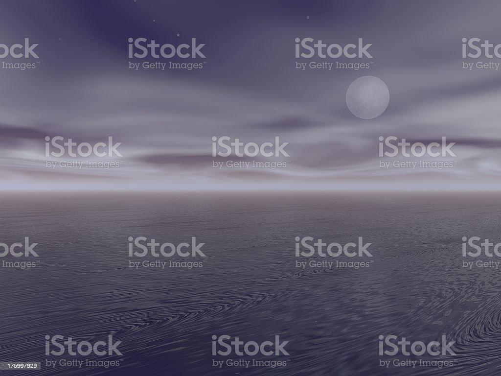 night moon sky royalty-free stock photo