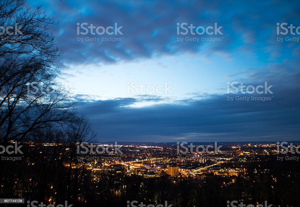 Night of bethlehem stock photo