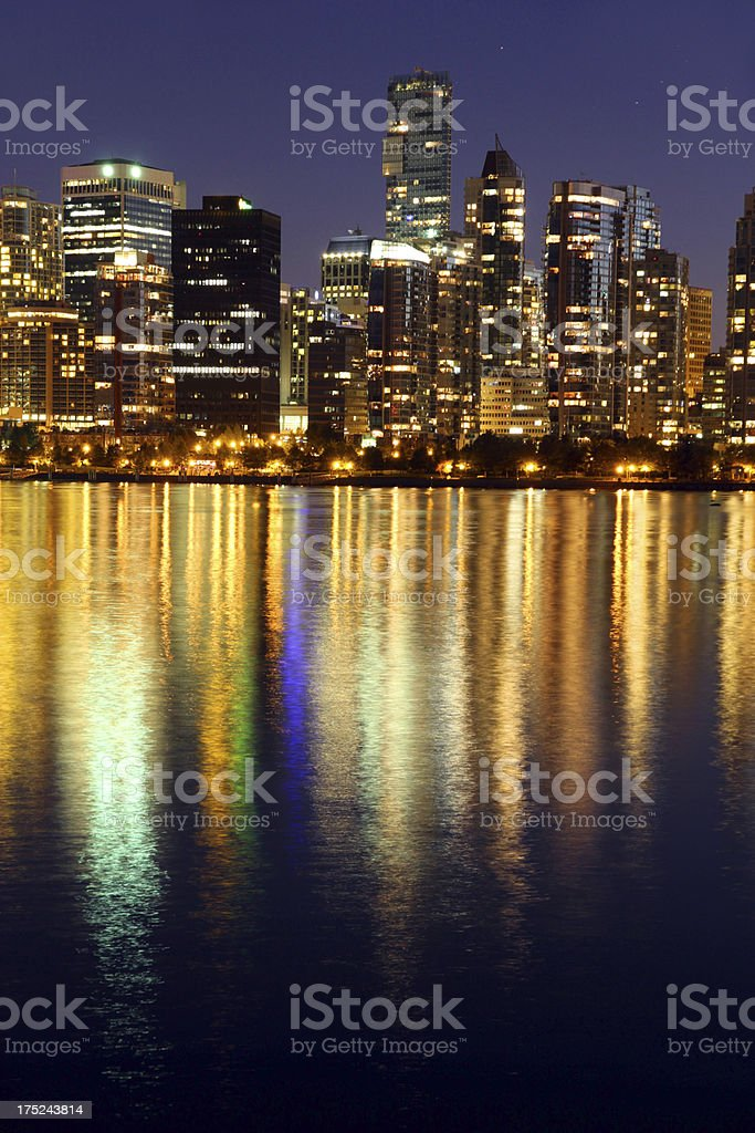 Night on the Town royalty-free stock photo