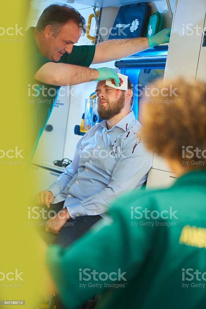 night out gone wrong stock photo