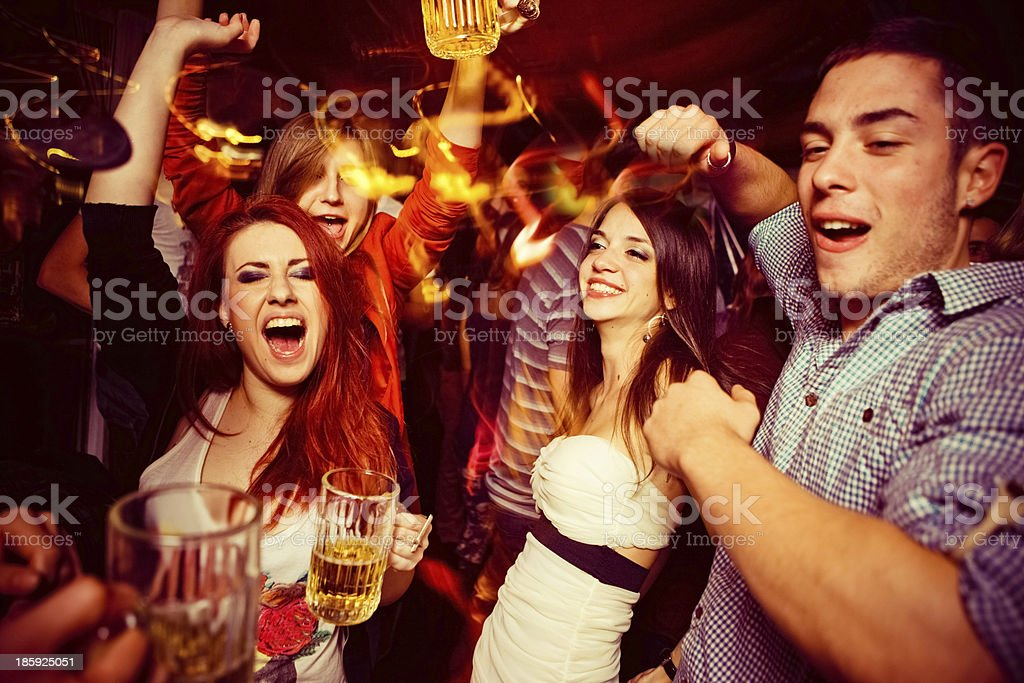 Night out stock photo