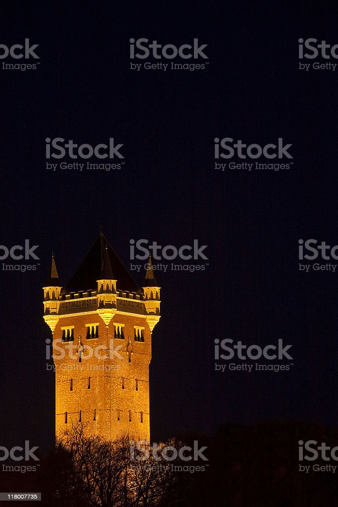 Night picture stock photo