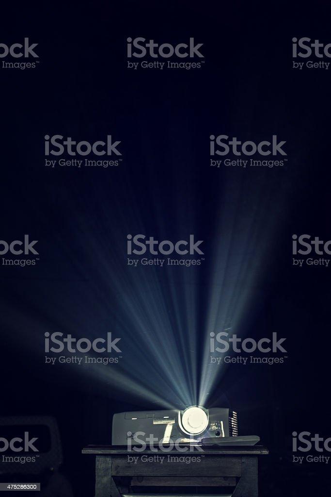Night Projector stock photo