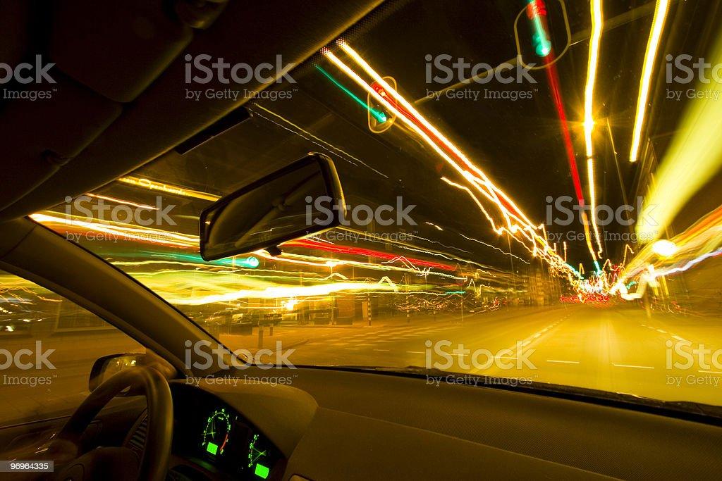 Night Rider stock photo