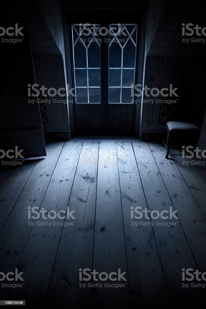 Night room stock photo