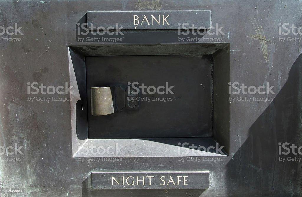 night safe stock photo