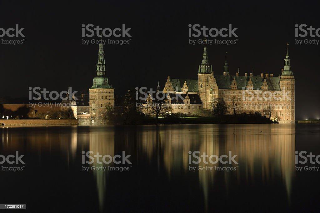 Night scenery. stock photo