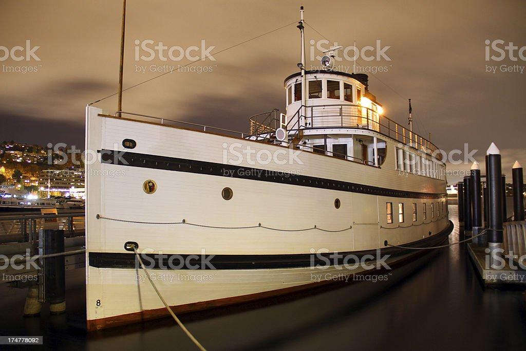 Night Ship stock photo
