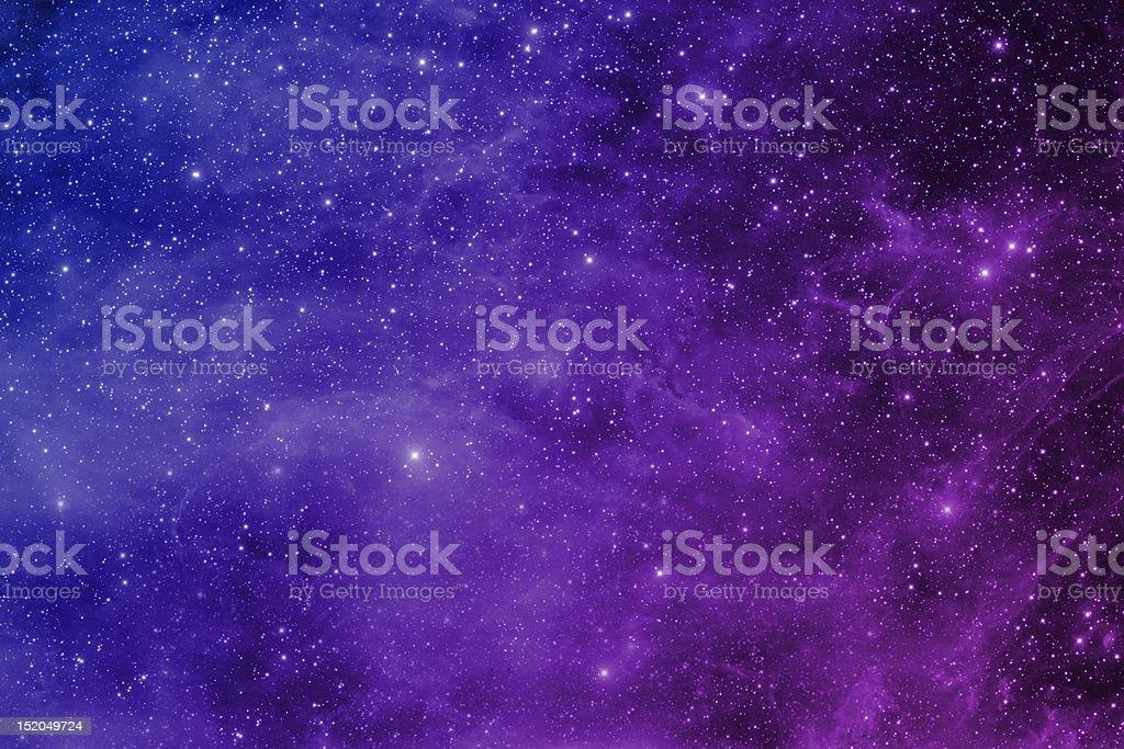 night sky with stars royalty-free stock photo