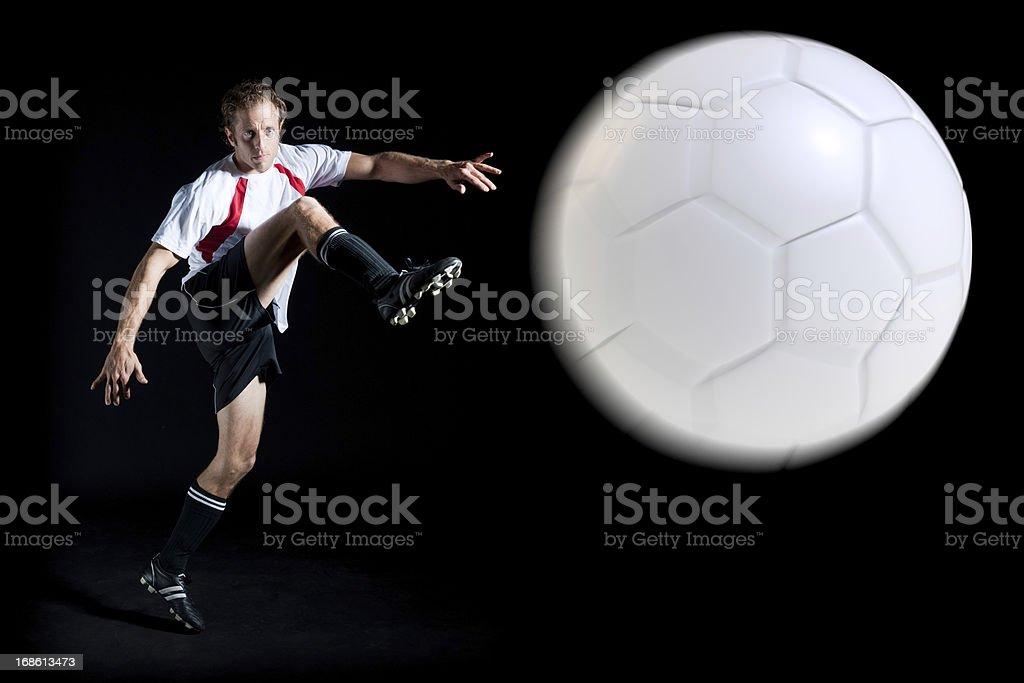 Night Soccer royalty-free stock photo
