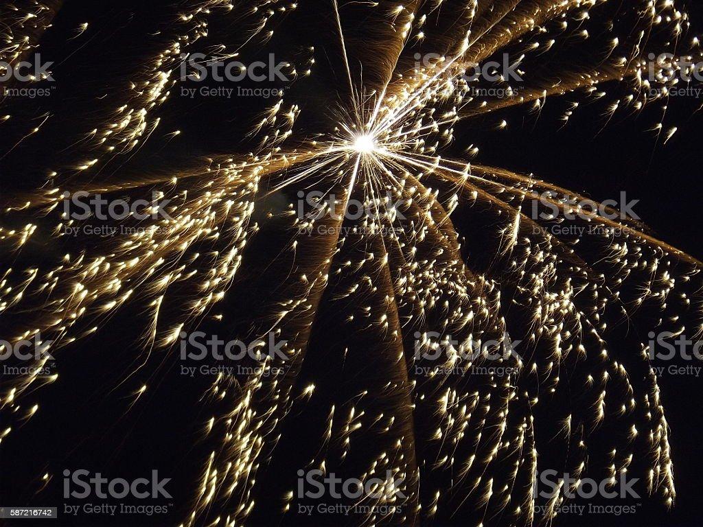 Night Sparkle stock photo